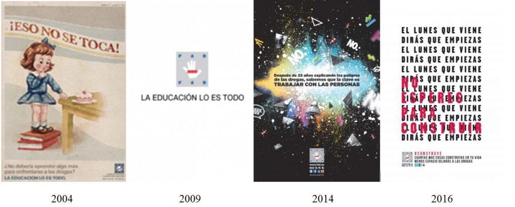 Campañas FAD 2004 a 2016